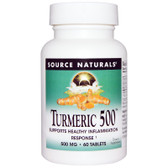 Buy Turmeric 500 60 Tabs Source Naturals Online, UK Delivery, Antioxidant Curcumin