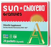 Buy A Granules 20 Individual Packs 2.1 oz (60 g) Sun Chlorella Online, UK Delivery, Green Foods Superfoods