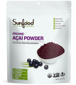 Buy Amazon Acai Powder 8 oz (227 g) Sunfood Online, UK Delivery, Juice Fruit Extract