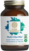 Buy Pure Synergy Organic Multi Vita-Min 60 Veggie Tabs The Synergy Company Online, UK Delivery, Multivitamins