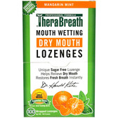Mouth Wetting Fresh Breath Mandarin Mint 100 Lozenges 165 g TheraBreath