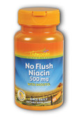 Buy No Flush Niacin 500 mg 30 Veggie Caps Thompson Online, UK Delivery, Cardiovascular Cholesterol Balance Support Flush Free Niacin Treatment