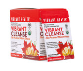 Buy Organic Vibrant Cleanse Organic Lemonade Diet 15 Single Serving Packets 7.94 oz (225 g) Vibrant Health Online, UK Delivery, Cleanse Detox Cleansing Detoxify Formulas