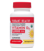 Buy Vitamin D3 2 000 IU 100 Organitabs Vibrant Health Online, UK Delivery, Vitamin D3
