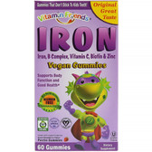 Buy UK  IronBear Gummies Strawberry 15 mg 60 Pectin Bears Vitamin Friends Online, UK Delivery