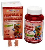 Buy PropoBear Propolis & Echinacea Gummies Berry 60 Pectin Bears Vitamin Friends Online, UK Delivery