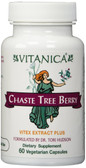 Chaste Tree Berry Vitex Extract Plus for Women 60 Caps, Vitanica