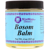 Buy UK Bosom Balm 4 oz (112 g) WiseWays Herbals Online, UK Delivery, Women's Vitamins Supplements for Women