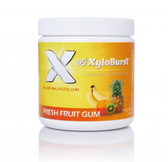 Buy Xylitol Chewing Gum Fruit 5.29 oz (150 g) 100 Pieces Xyloburst Online, UK Delivery, Oral Care Dental Chewing Gum Mints