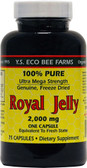 UK Buy Royal Jelly, 100% Pure 2000 mg, 75 Caps, Y.S. Eco Bee