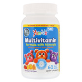 Buy Multivitamin + Mineral Formula Yummy Grape Flavor 60 Jellies Yum-V's Online, UK Delivery, Kids Gummies