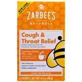 Buy Cough & Throat Relief Daytime Drink Apple Spice 6 Packets (16 g) Each Zarbee's Online, UK Delivery, Throat Care Spray