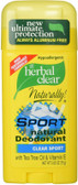 Buy Herbal Clear Naturally! Sport Natural Deodorant Clear Sport 2.65 oz (75 g) 21st Century Health Care Online, UK Delivery, Deodorant Stick