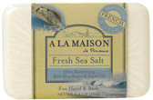 Buy Hand & Body Bar Soap Fresh Sea Salt 8.8 oz (250 g) A La Maison de Provence Online, UK Delivery, Vegan Cruelty Free Product