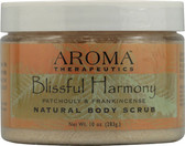 Buy Natural Body Scrub Blissful Harmony Patchouli and Frankincense 10 oz (283 g) Abra Therapeutics Online, UK Delivery, Body Sugar Scrubs