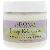 UK Buy Body Scrub Deep Relaxation Lavender and Melissa 10 oz, Abra