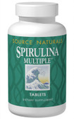 Spirulina Multiple 100 Tabs Source Naturals, Super Food