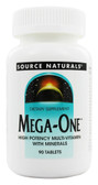 Mega-One 90 Tabs Source Naturals, Multivitamins, UK Shop