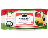 Buy Bamboo Baby Wipes Ultra Sensitive 72 Wipes 7.9 x 6.7 in (17 x 20 cm) Aleva Naturals Online, UK Delivery, Baby Wipes