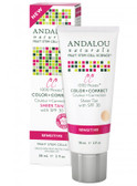 Buy CC Moisturizing Color + Correct Sheer Tan with SPF 30 Sensitive 2 oz (58 ml) Andalou Naturals Online, UK Delivery, Vegan Cruelty Free Product Facial Creams Lotions Serums