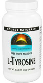 L-Tyrosine 100 gm Powder, Source Naturals, UK