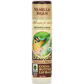 Buy Cocoa Butter Lip Balm Vanilla Bean .25 oz (7 g) Badger Company Online, UK Delivery, Lip Balms
