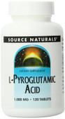 L-Pyroglutamic Acid 1000 mg 120 Tabs, Source Naturals, UK