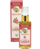 Buy Damascus Rose Face Cleansing Oil For Dry/Delicate Skin 2 oz (59.1 ml) Badger Company Online, UK Delivery, Facial Cleansers