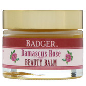 Buy Beauty Balm Damascus Rose 1 oz (28 g) Badger Company Online, UK Delivery, Vegan Cruelty Free Product Skin Supplements Topical Treatments