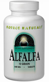 Alfalfa 648 mg 1000 Tabs, Source Naturals, 10 Grain, UK Shop