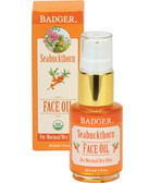 Buy Seabuckthorn Face Oil For Normal/Dry Skin 1 oz (29.5 ml) Badger Company Online, UK Delivery, Normal to Dry Skin Type Facial Care