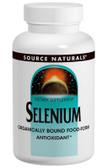 Selenium 100 mcg 100 Tabs Source Naturals, Antioxidant