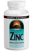 Zinc 50 mg 250 Tabs, Source Naturals, Amino Acid Chelate