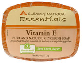 Buy Essentials Pure and Natural Glycerine Soap Vitamin E 4 oz (113 g) Clearly Natural Online, UK Delivery, Vegan Cruelty Free Product