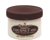 Buy 100% Coconut Oil 7 oz (198 g) Cococare Online, UK Delivery, Sunburn Sun Protection