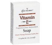 Buy Vitamin E Soap Fragrance Free Antioxidant 4 oz. (113 g) Cococare Online, UK Delivery, Vitamin E