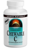 Acerola Cherry Chewable C 500 mg 100 Tabs, Source Naturals