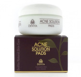 Buy Natural Skin Care Acne Solution Pads 2 oz (60 g) Devita Online, UK Delivery, Vegan Cruelty Free Product Acne Prone Skin Type