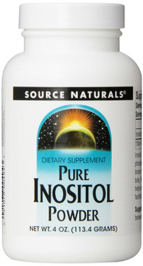 Inositol, Pure 4 oz Powder, Source Naturals, UK
