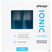 Buy Ionic hyG Replacement Brush Heads Soft 2 Brush Heads Dr. Tung's Online, UK Delivery, Oral Teeth Dental Care Toothbrushes