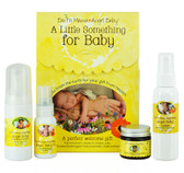 Buy A Little Something for Baby 4 Piece Set Earth Mama Angel Baby Online, UK Delivery, Baby Powder Oils