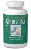Spirulina 500 mg 200 Tabs, Source Naturals