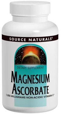 Magnesium Ascorbate 4 oz Crystals Source Naturals, UK