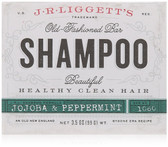 Buy Old Fashioned Bar Shampoo Jojoba & Peppermint 3.5 oz (99 g) J.R. Liggett's Online, UK Delivery