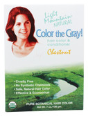 Color the Gray! Natural Hair Color & Conditioner Chestnut 7 oz (198 g)