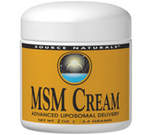 Source Naturals, MSM Cream 2 oz Cream