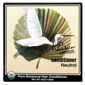 Buy Natural Conditioner Neutral 4 oz (113 g) Light Mountain Online, UK Delivery, Vegan Cruelty Free Product