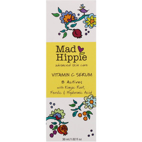 Buy Vitamin C Serum 8 Actives 1.02 oz (30 ml) Mad Hippie Skin Care Products Online, UK Delivery
