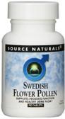 Swedish Flower Pollen 90 Tabs Source Naturals, Prostate, Urine Flow