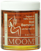 Buy Hair Remover with Tea Tree Oil Classic 6 oz (170g) Moom Online, UK Delivery, Shaving